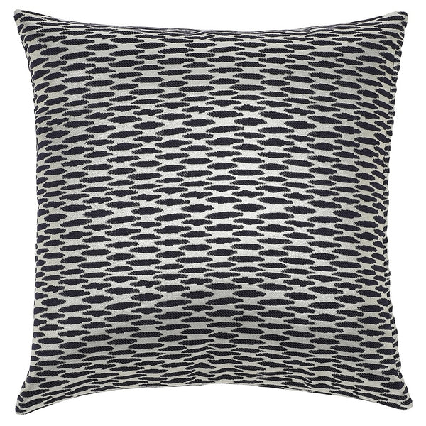 DAGNY Cushion cover #ST7003 Cushion cover Black w/silver lurex