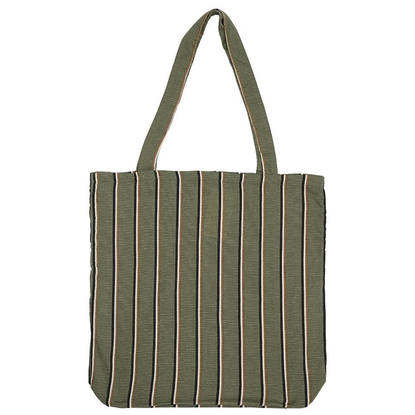 DAGNY Shopper #19080 Bag Kahki w/stripes