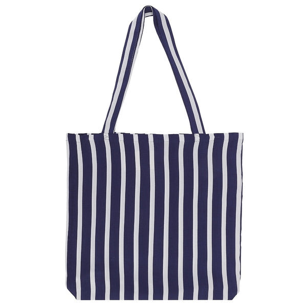 DAGNY Shopper #19046 Bag Blue/white stripe