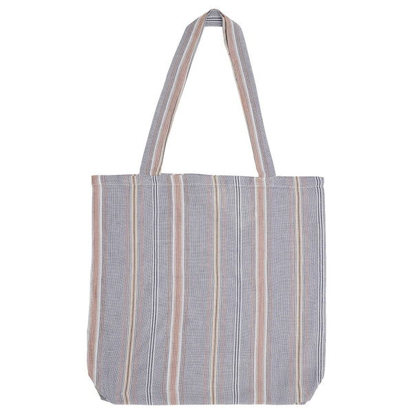 DAGNY Shopper #19055 Bag Blue/white stripe