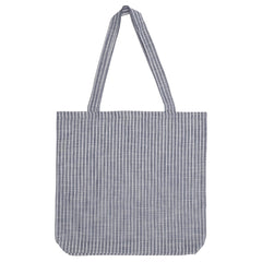 DAGNY Shopper #19059 Bag Blue/white stripe