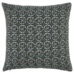 DAGNY #106-545/50 Cushion cover Black/green/yellow