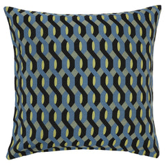 DAGNY #102-549/65 Cushion cover Black/blue/yellow