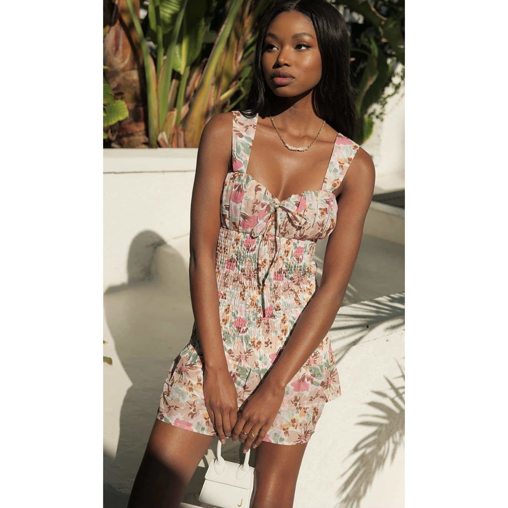 ACANTHA DRESS - FLORAL Laucala Boutique
