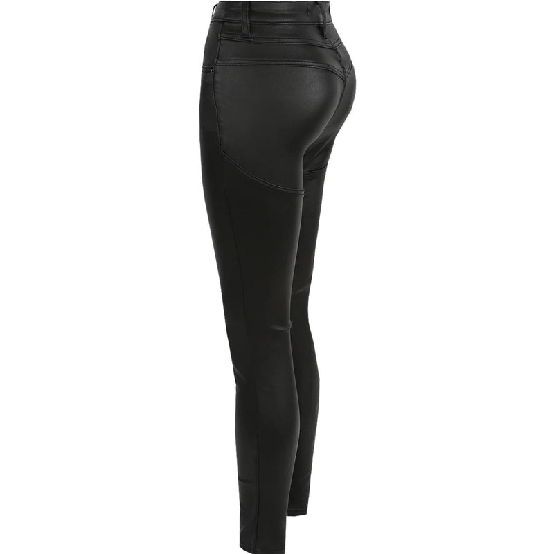 CeeCee Push Up Skinny Jeans - Black BOTTOMS Laucala Boutique