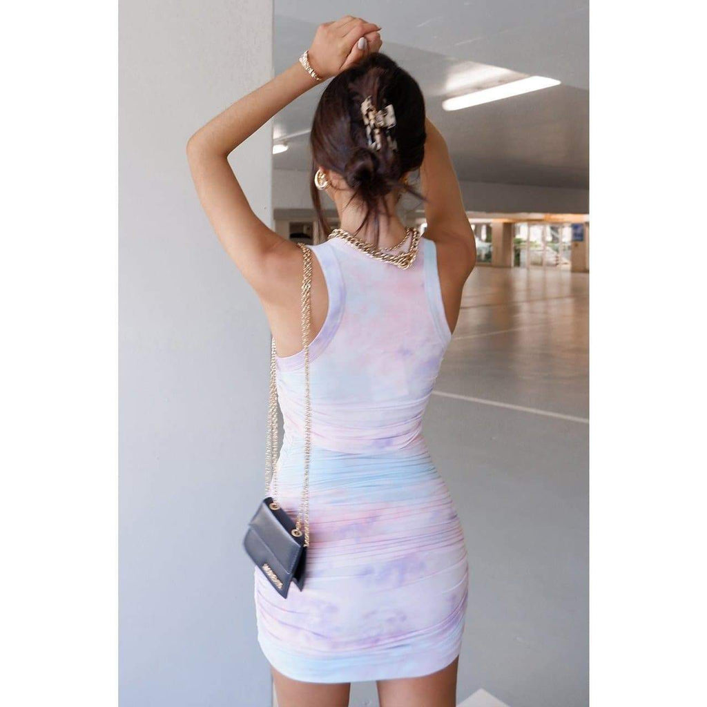 ECCENTRIC DRESS - LILAC DRESS Laucala Boutique