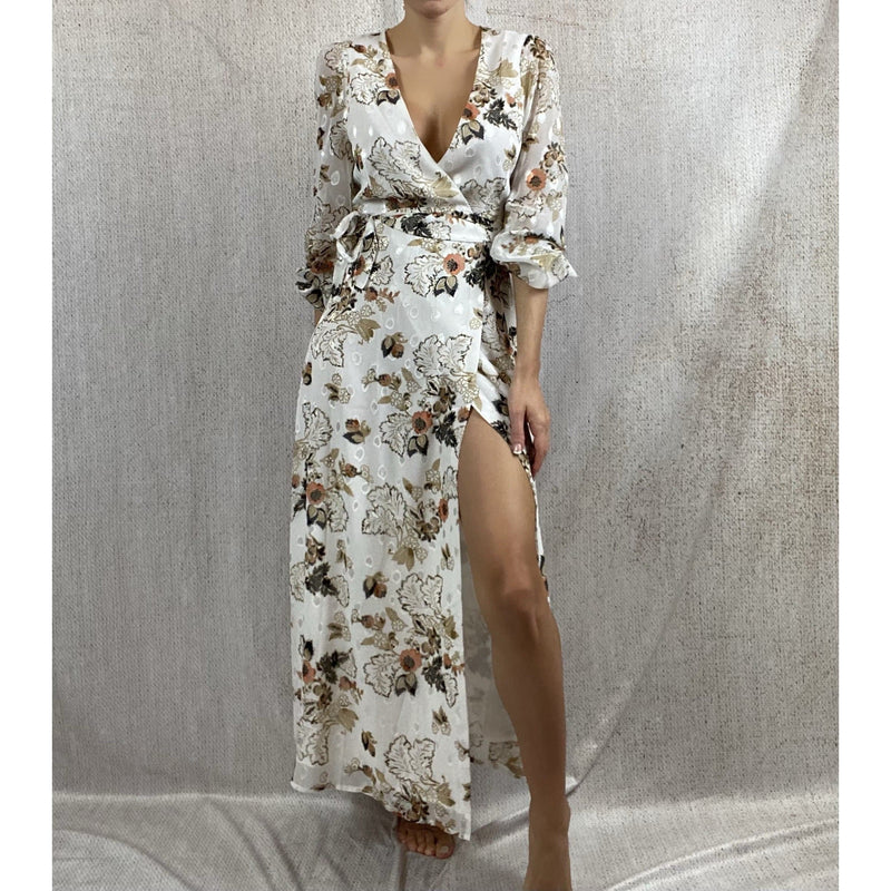 FLORAL ELLA DRESS DRESS Laucala Boutique