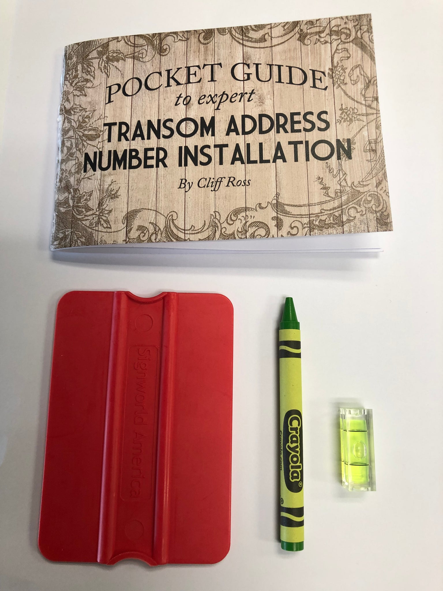 DIY Transom Number Installation Kit