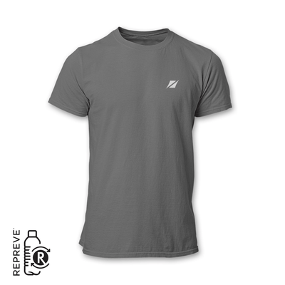 Sustainable gray running shirt