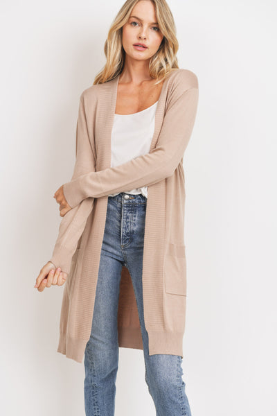 MAKAYLA WHISPY DUSTER CARDIGAN