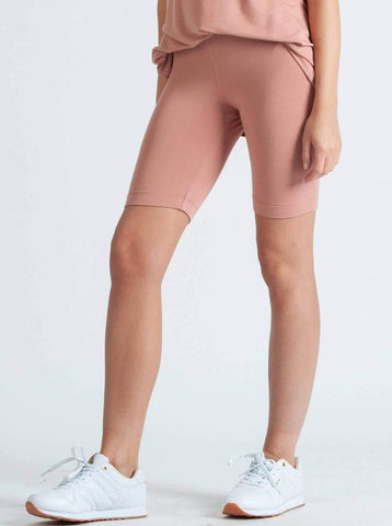 MONICA RAYON FRENCH TERRY JERSEY SHORT- CHAI