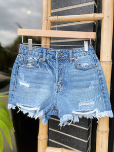 SUNNY DAYS HIGH RISE DENIM SHORT