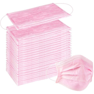 Surgical Masks Pink (50 ct.)