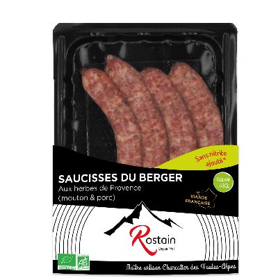 Saucisses Du Berger 220g  Rostain