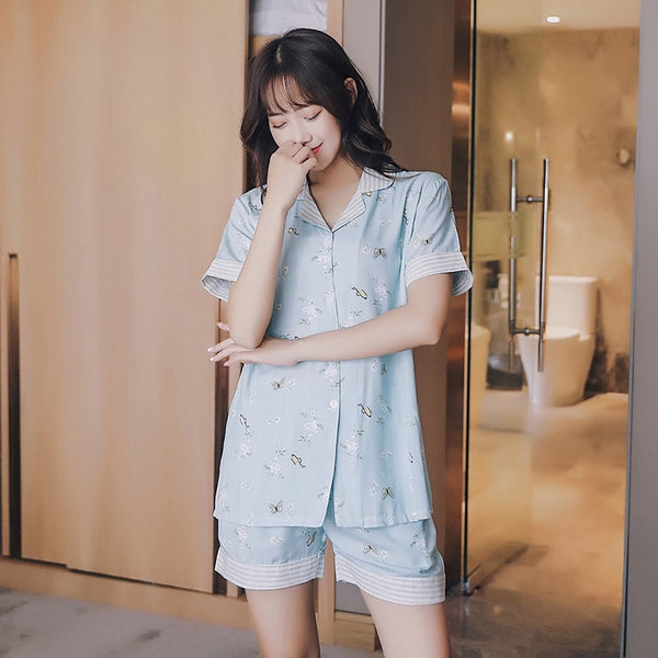 Summer Flesh Sleepwear 2set