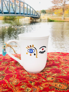 evil eye mug anthropologie