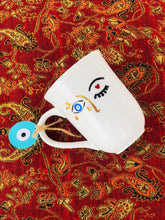 Load image into Gallery viewer, evil eye coffee mugs