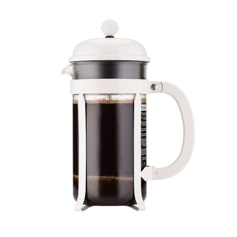 Bodum, Chambord, French Coffee Press, 12oz, white