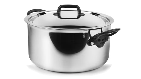 cookware, Mauviel, 8.8 Litre stew pot w/ lid 5ply S/S, M'cook