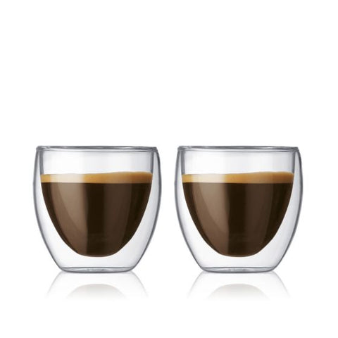 double wall glasses, Pavina by Bodum