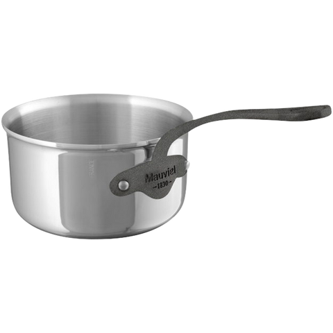 cookware, Mauviel, 2.5 Litre saucepan 5ply S/S, M'cook