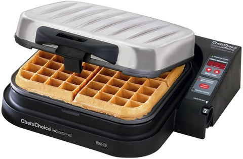 Belgian style waffle maker by Chef's Choice