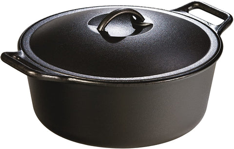 "cast iron ""ProLogic"" 4qt Dutch Ovens"" by Lodge, made in USA"