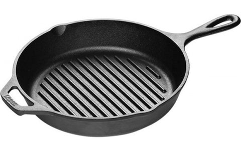 cast iron griddle pans, by Lodge, made in USA