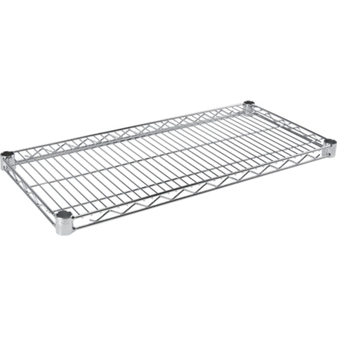 wire shelving, chrome plated, USED, in-store pick up only