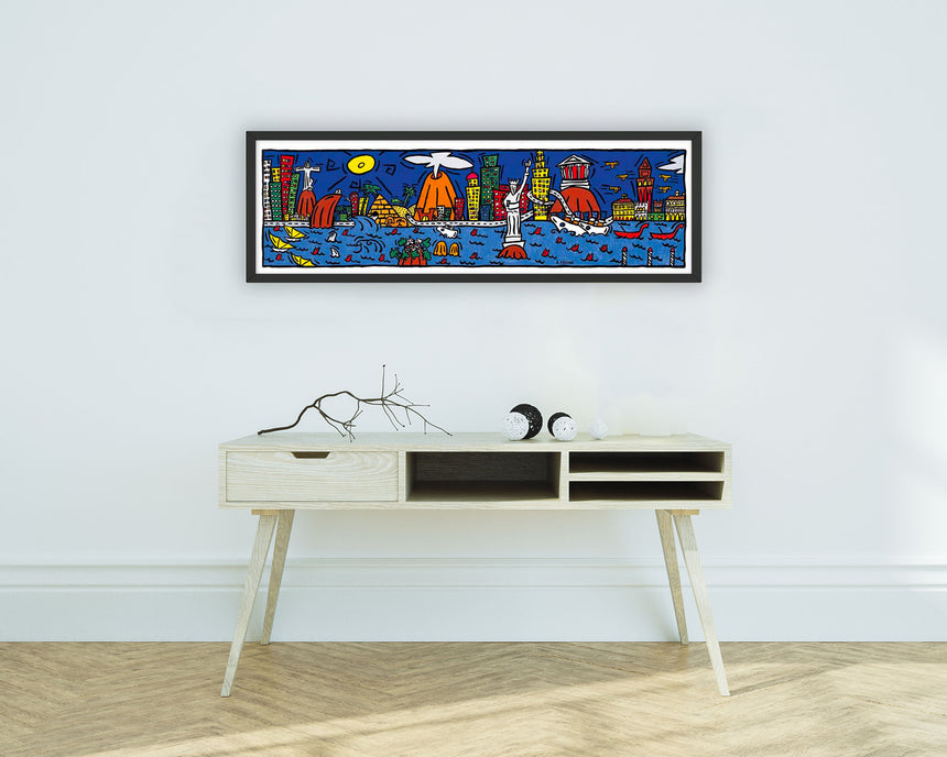 Seafront poster. 15% discount at check out!