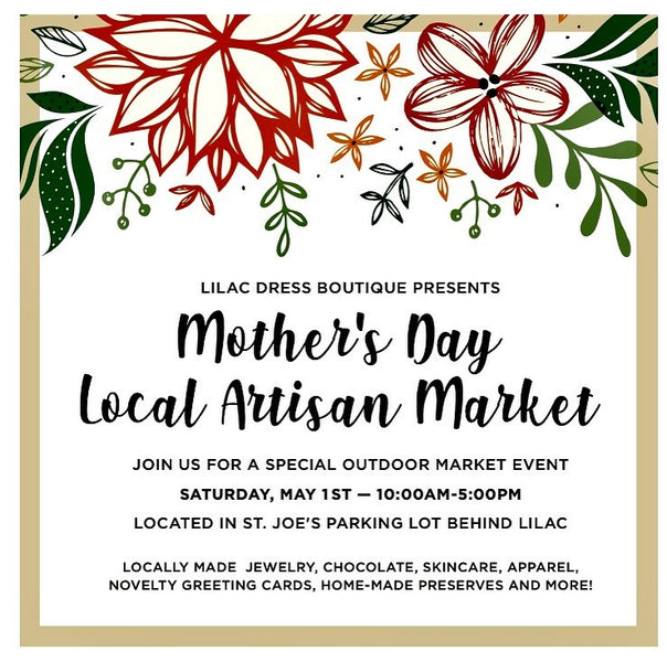 JOIN US OUTDOORS🔆:  Mother's Day Local Artisan Market (May 1st, Alameda)
