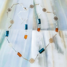 Load image into Gallery viewer, Kyanite Duo Necklace