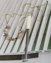 Load image into Gallery viewer, Pearly Grace (Gray Pearls & Gold)