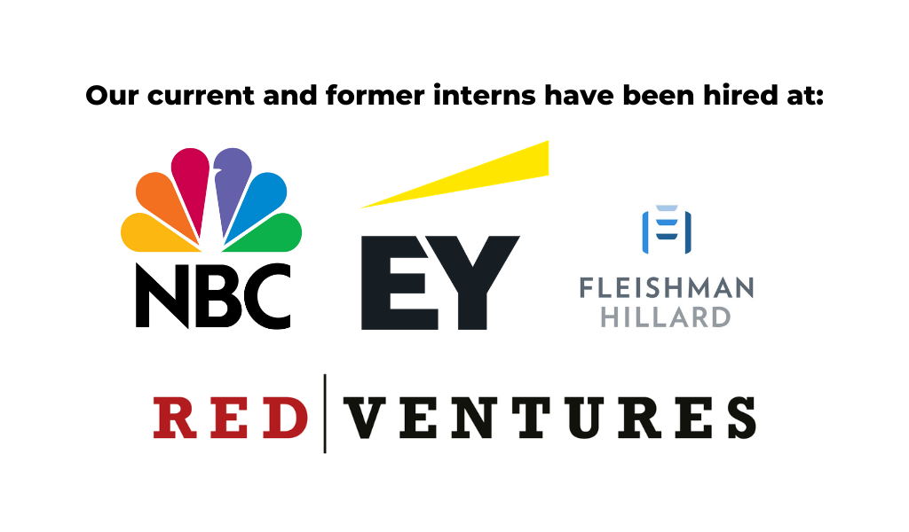 logo of nbc, ernest & young, fleishman hillard, and red ventures