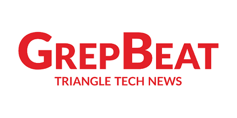 GrepBeat Triangle Tech News written in bold red font