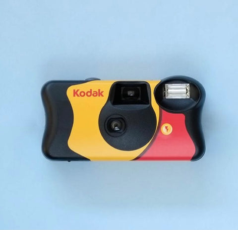 Disposable camera summer packing list