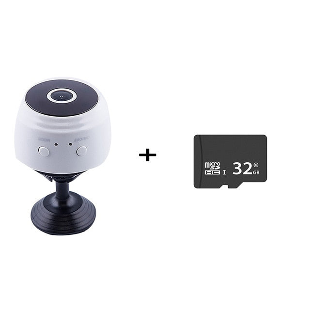 Onelife™ Camera 1080P w Night Vision/Motion Detection Perfect Indoor Security Camera for Home/Office cam Built-in Battery