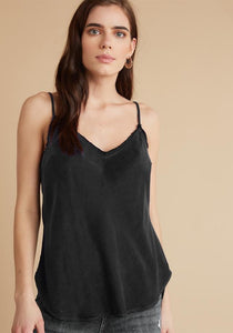 Silky Frayed Edge Cami