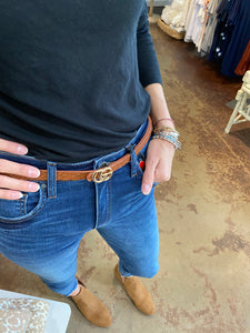 Frida Buckle Belt