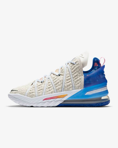 NIKE LEBRON 18 LOS ANGELES BY DAY BASKETBALL SHOES