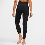 NIKE YOGA LUXE WOMENS INFINALON 7/8 RIBBED TIGHTS