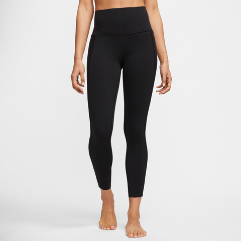 NIKE YOGA LUXE WOMEN'S INFINALON 7/8 RIBBED TIGHTS