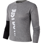 NIKE THERMA SPHERE ICON CLASHWOMEN'S LONG-SLEEVE RUNNING TOP