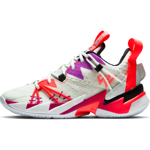 "JORDAN ""WHY NOT?"" ZER0.3 SE PFMEN'S BASKETBALL SHOESAIL/BLACK-SPRUCE AURA-FLASH CRIMSON"