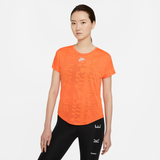 NIKE AIR WOMENS SHORT-SLEEVE RUNNING TOP