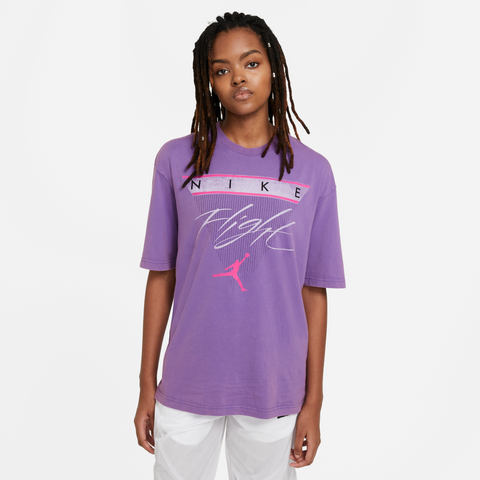 JORDAN FLIGHT WOMENS SHORT-SLEEVE T-SHIRT
