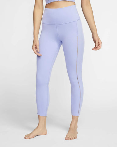 NIKE YOGA LUXEWOMEN'S INFINALON 7/8 RIBBED TIGHTS