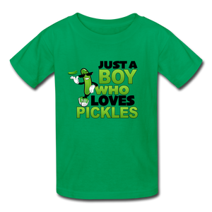 Just A Boy 👦 Multiple Colors - kelly green