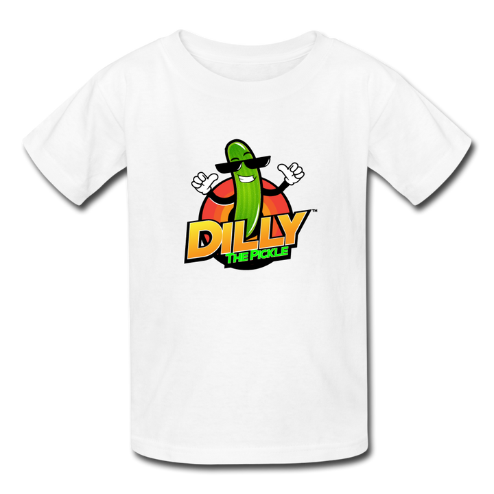Kids' Dilly Toons 🤩 | Multiple Colors - white