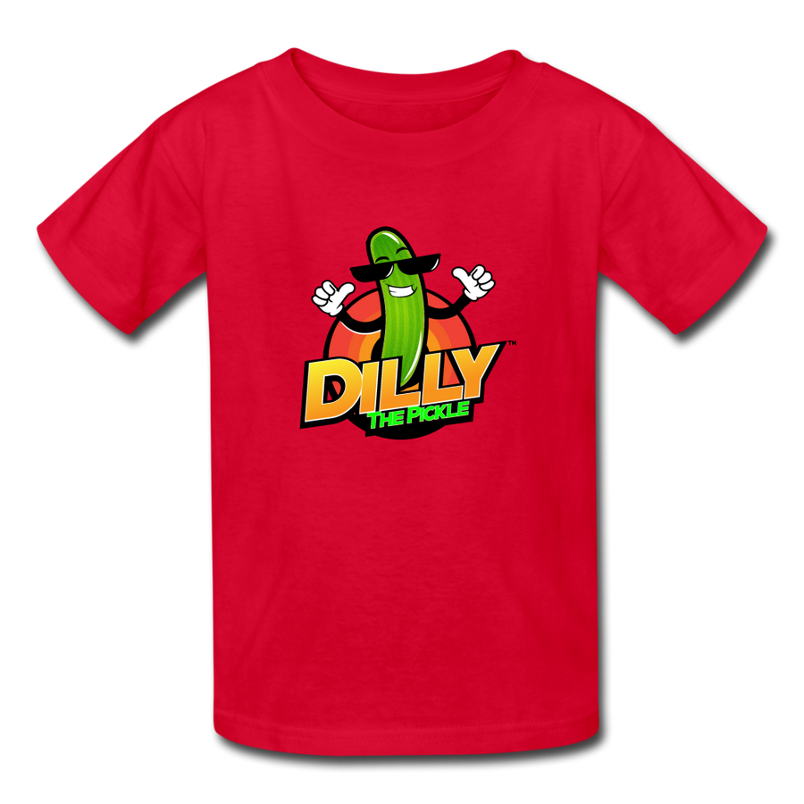 Kids' Dilly Toons 🤩 | Multiple Colors - red